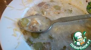 """Рецепт Суп грибной """"Сливочный"""""""