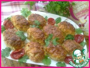 Рецепт Котлеты куриные с овсяными хлопьями