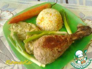 Рецепт «Голени индейки» из бараньего фарша