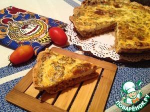 Рецепт Пирог со скумбрией и творогом