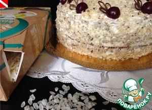 Рецепт Вацлавский торт с рисовым грильяжем