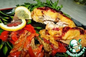 Рецепт Куриная грудка в сметано-горчичном маринаде