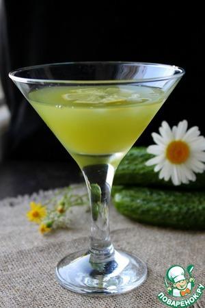 Рецепт Лимонад из огурца и лимона