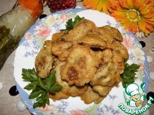 Рецепт Куриная печень в воздушном кляре