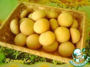 Рецепт Индийское печенье «Нан хати» с кокосом