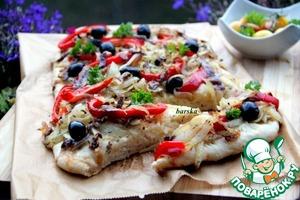 Рецепт Писсаладьер или французская пицца