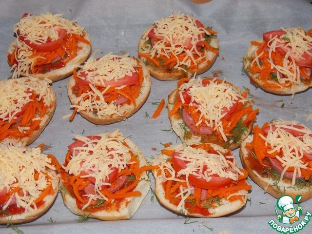 Мини пиццы в домашних условиях - OndoShop.ru