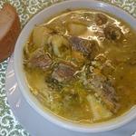 Щавелевый суп с кефиром