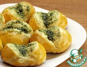 Готовим Чесночные булочки-пампушки домашний рецепт приготовления с фото пошагово
