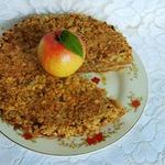"""Пирог яблочный """"Домашний"""" с овсяными хлопьями"""