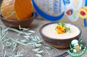 Рецепт Каша с отрубями, тыквой и сыром