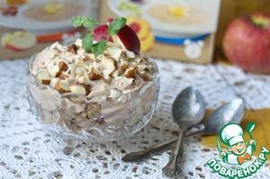 Рецепт Десерт с отрубями и гречневыми хлопьями