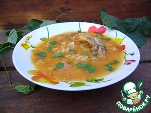Рецепт Томатный суп с плавленным сыром