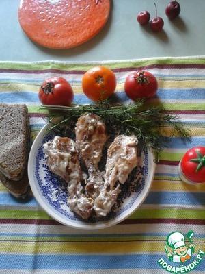 """Рецепт Курица в майонезе """"Наоборот"""""""