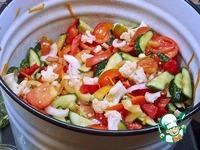 Консервированный овощной салат ингредиенты