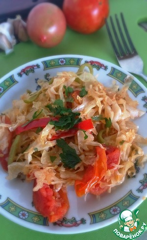"Рецепт Капустный салат ""Пряный"""