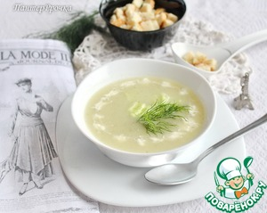 Рецепт Крем-суп из огурцов