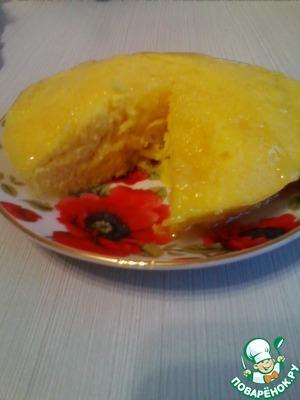 Рецепт Лимонный кекс в микроволновке за 5 минут