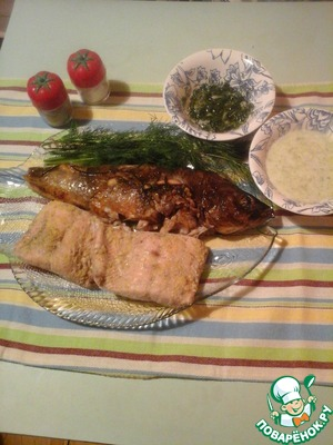 Рецепт Две рыбы за 20 минут