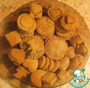 Рецепт Два вида печенья в СВЧ