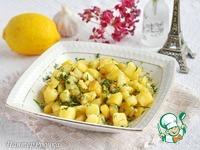 Картофель, жаренный с лимоном и чесноком ингредиенты