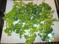 Зелень из микроволновки на всю зиму ингредиенты