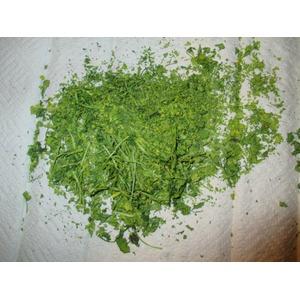 Зелень из микроволновки на всю зиму