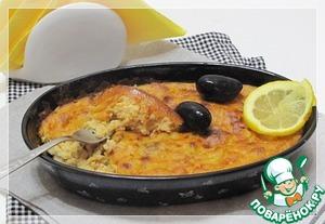 Рецепт Рыбный воздушный пирог по милански