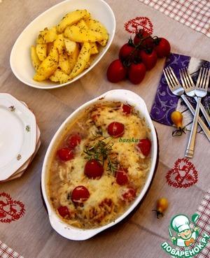 Рецепт Куриные грудки с картофелем по-провансальски