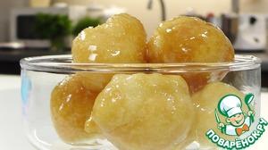 Рецепт Бине суфле или Профитроли в сиропе