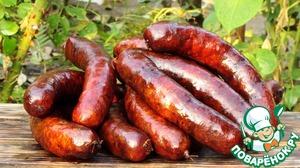 Рецепт Рецепт копчения колбас и приготовления в домашних условиях