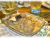 Куриная печень по-французски ингредиенты