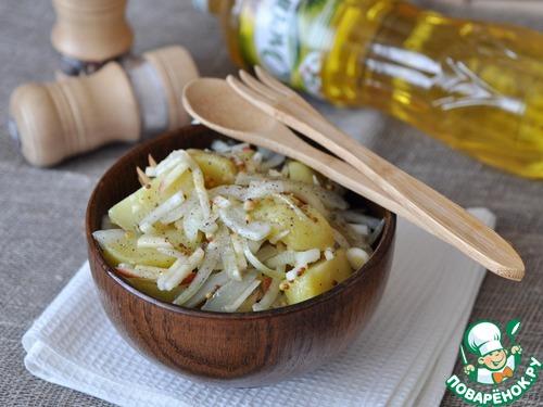 картофельный салат по берлински рецепт