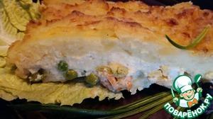 рецепт рыбный английский пирог