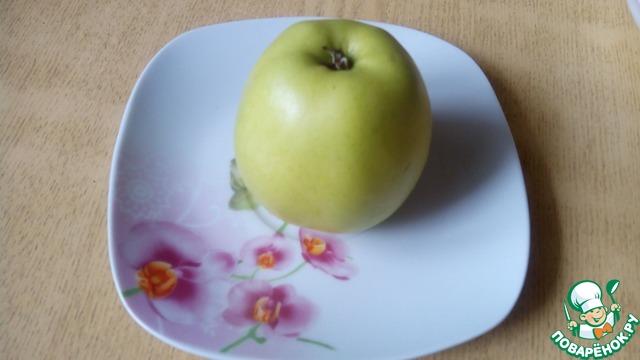 Пекинский с яблоками