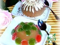 Пудинг из яблочного сока и манной крупы ингредиенты