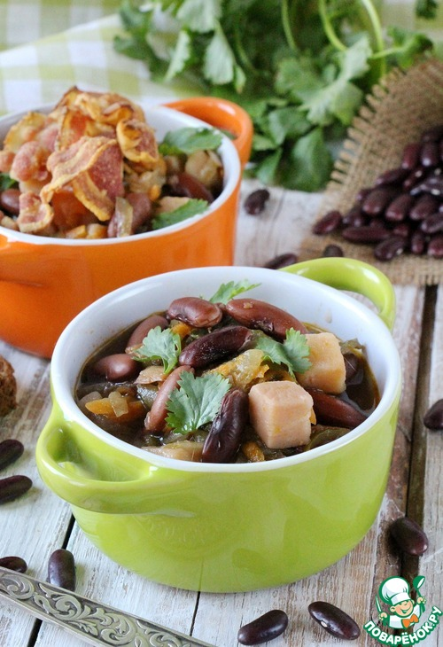 Блюда с фасолью постные рецепты