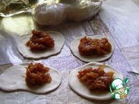 Постные чебуреки с луком ингредиенты