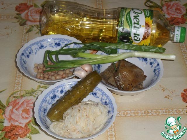 салат капуста по деревенски рецепт
