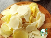 Картофельно-луковый пирог ингредиенты