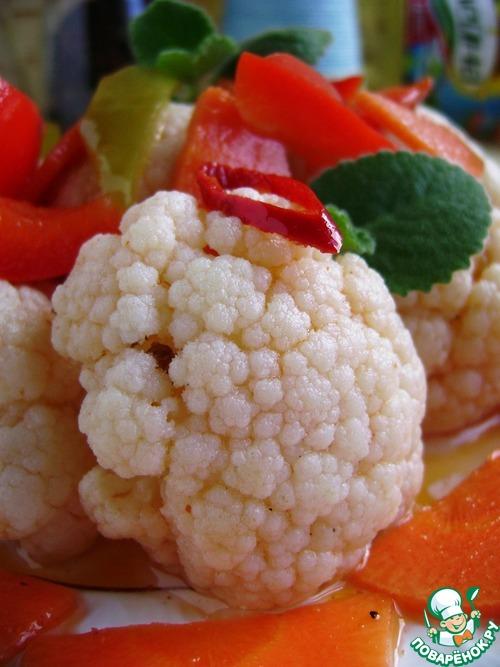 цветная капуста маринованная поваренок