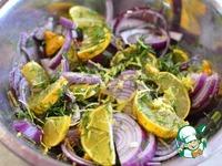 Сельдь с лимонами в масле ингредиенты