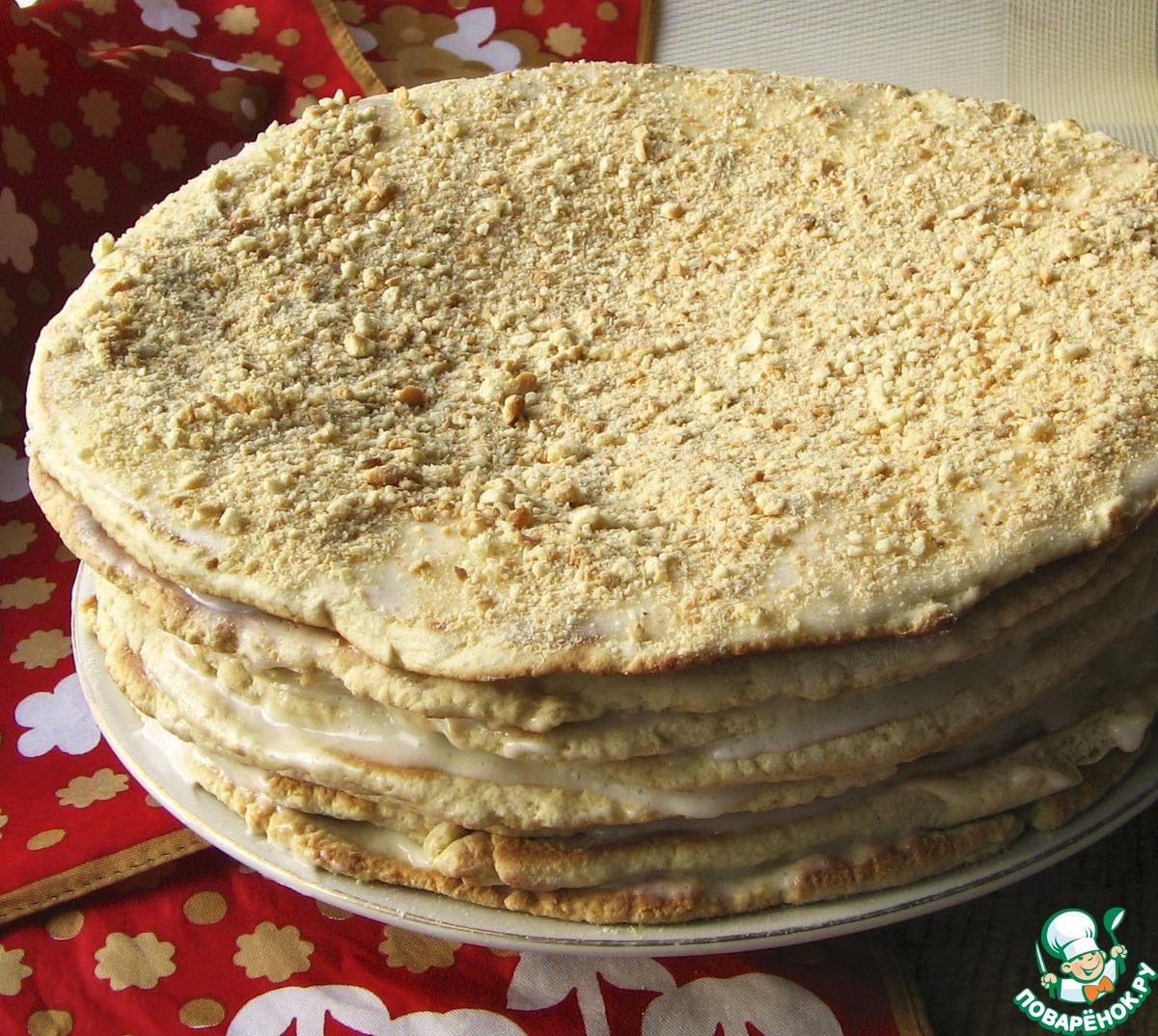 Пирог домашний сметанный рецепт пошагово
