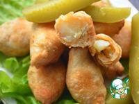 Жареный картофель в тесте ингредиенты