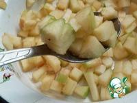 Вареники с яблоками и корицей ингредиенты