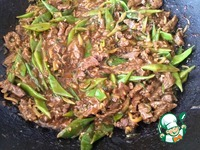 Говядина стир-фрай с рисовой лапшой ингредиенты