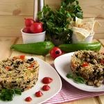 Рис с овощами по мотивам конгри
