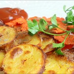 Овощные чипсы в духовке