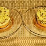 Рис с тыквой и жареным сыром