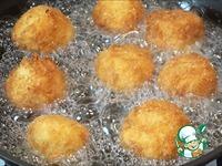 Картофельные шарики с ветчиной и сыром ингредиенты